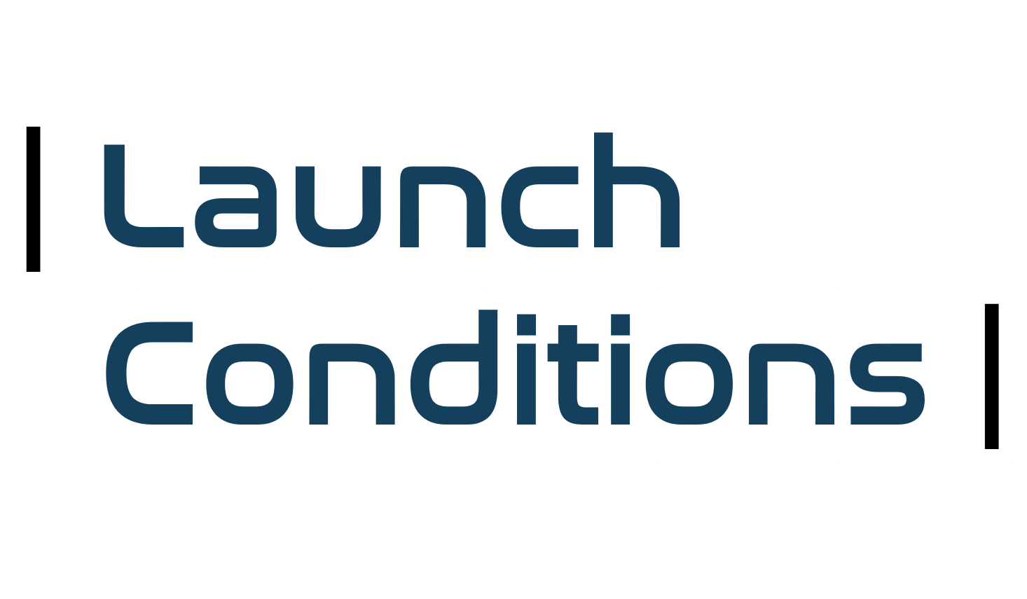 launch conditions